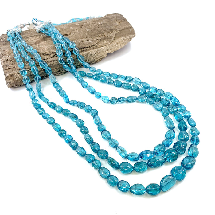 Apatite Multi-Strand Necklace