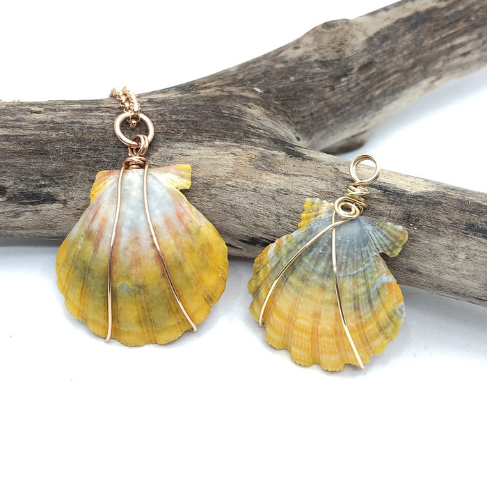 CUSTOM: Sunrise Shell Pendant Class