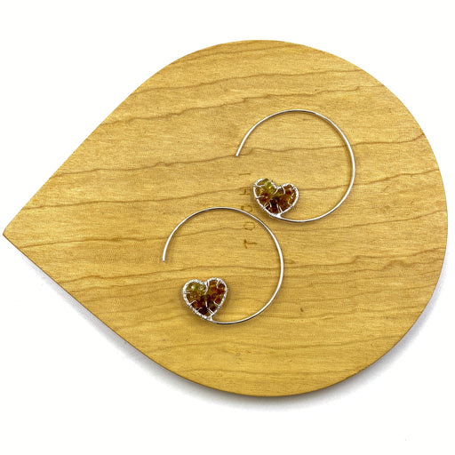 3/07/2020 Heart Hoop Earrings Mini Class