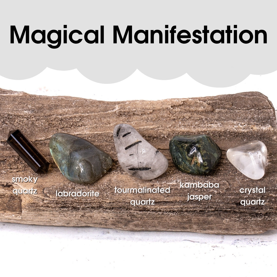 Tumbled Gem Set: Magical Manifestation