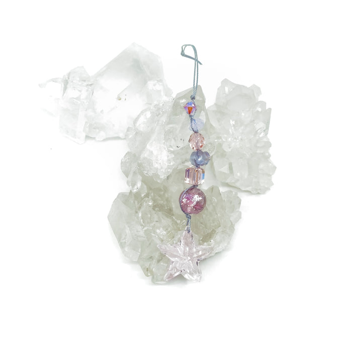 Crystal Light Catcher Kit - Pink Star