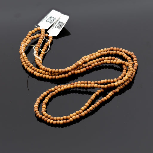 Sandalwood Strand - 3mm Round