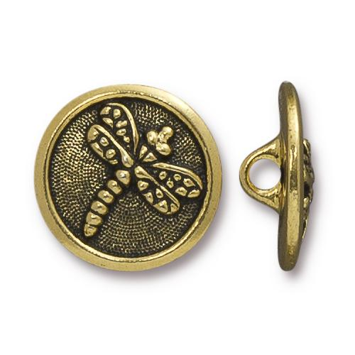 Dragonfly Button - 3 Colors Available