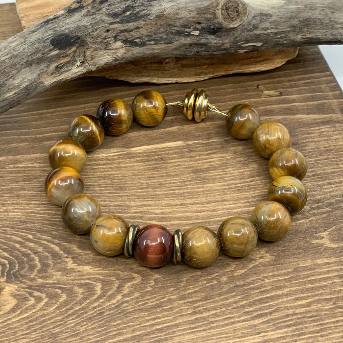Yang Collection: Tiger Eye Bracelet KIT