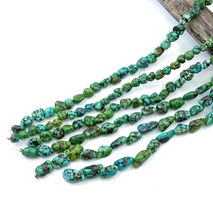 Chinese Turquoise Strand - Small Nuggets