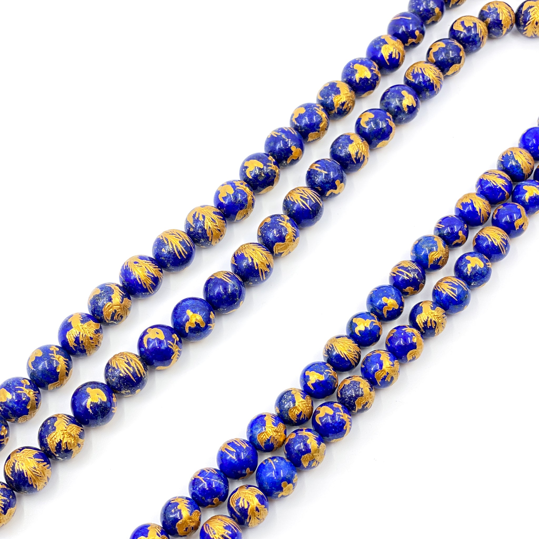 10mm Gemstone Strand - PHOENIX