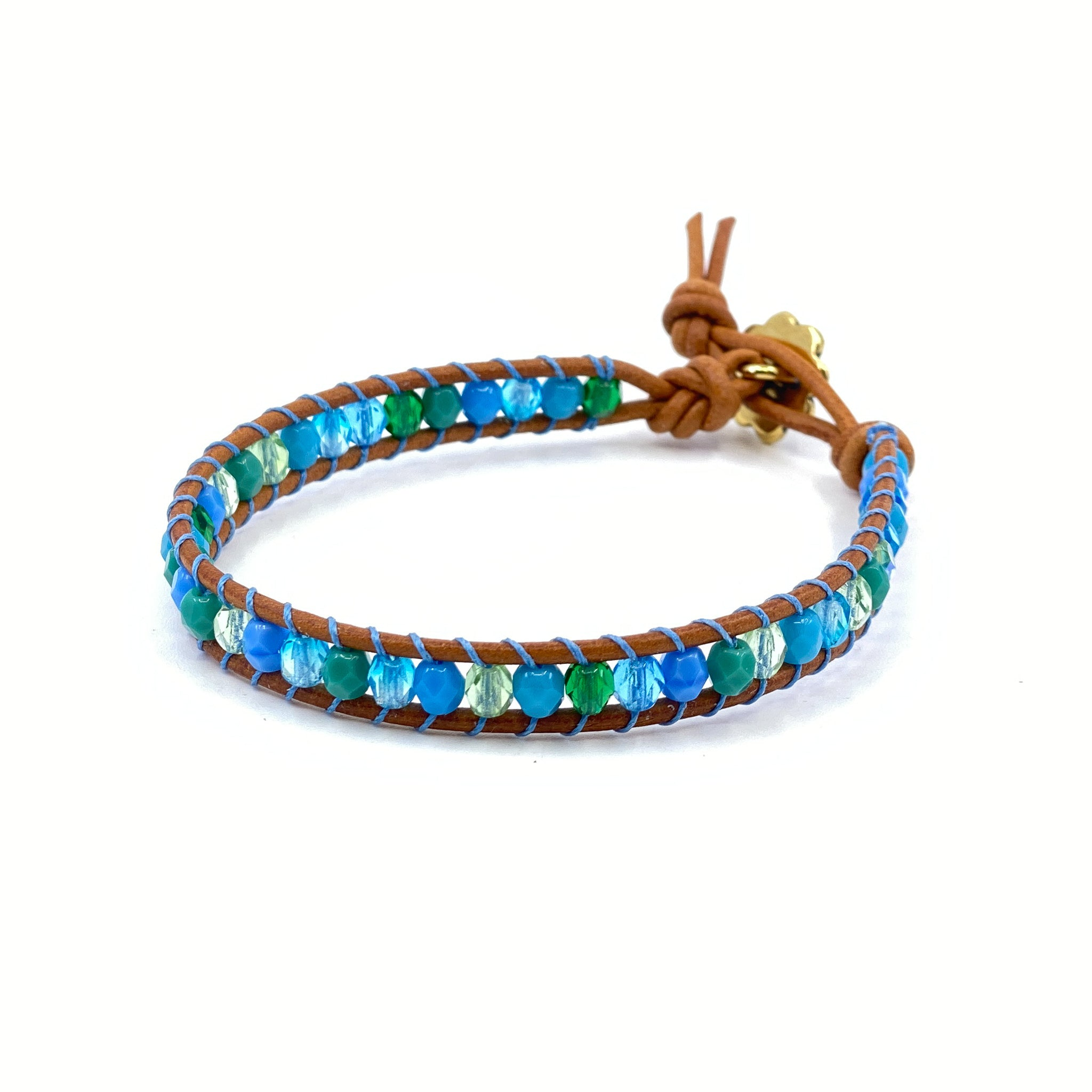 Lattice Wrap Bracelet Kits - Czech Glass
