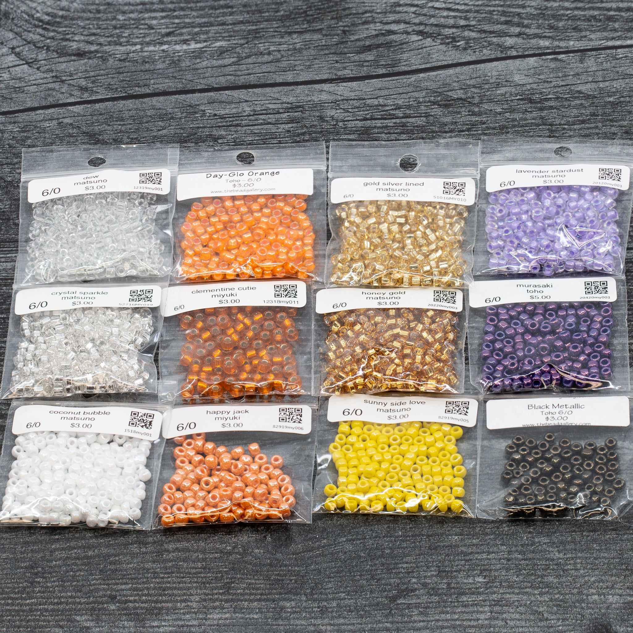 Halloween 6/0 Seed Bead Collection