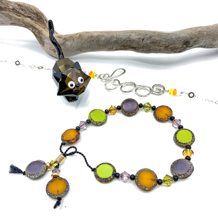 Halloween Bracelet Kit - Adjustable Silicone Slider Style!