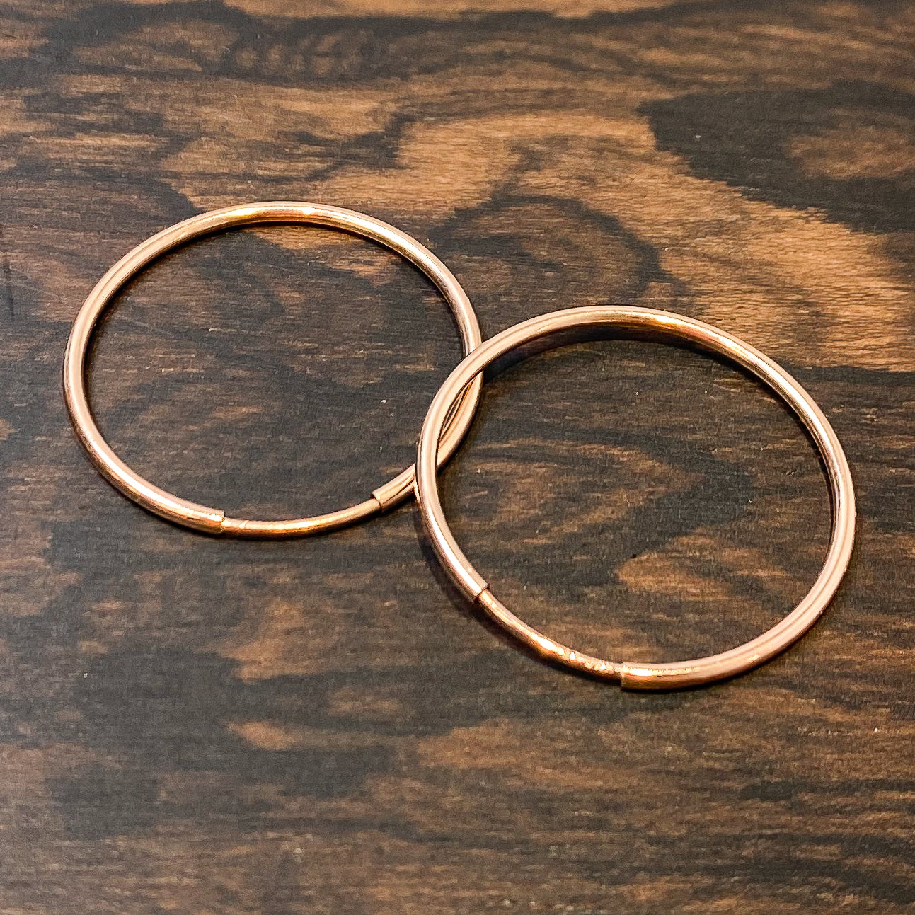 Endless Hoop Earring - 24mm