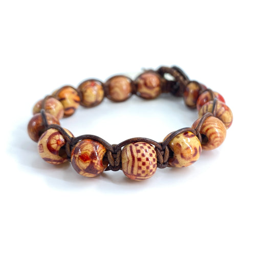 Vintage Wood Bodhi Bracelet Kit