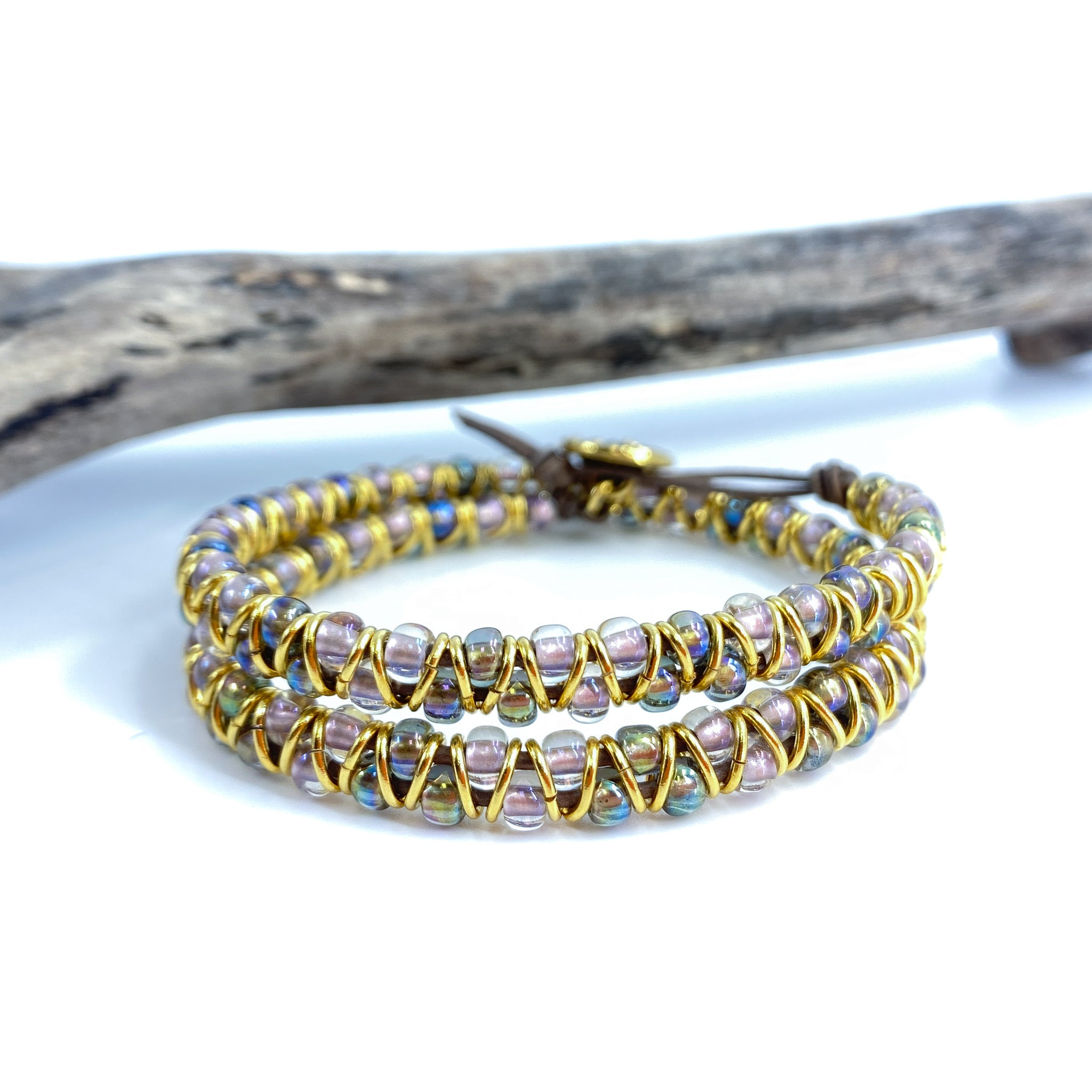 Hula Hoop Double Wrap Bracelet Kit