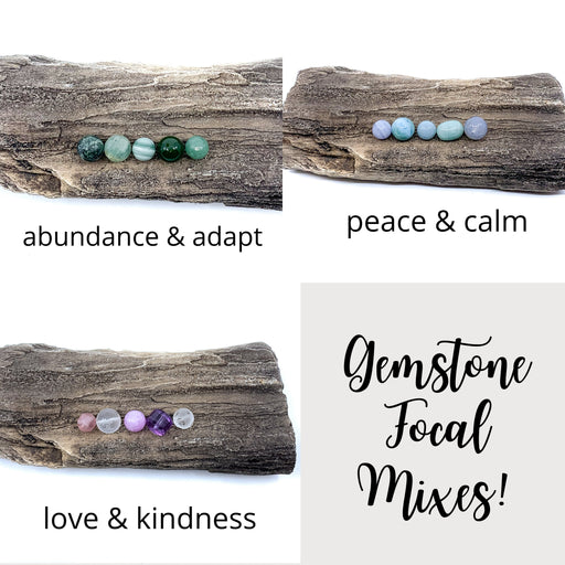 Focal Gemstone Mix (5 pc. bead set)