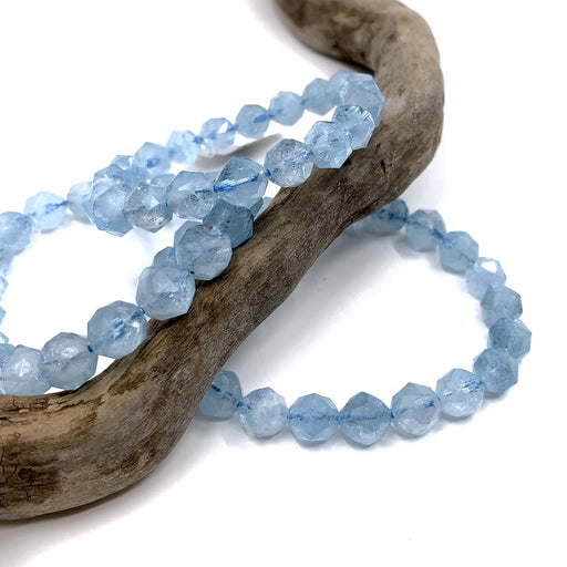 Aquamarine Star Cut Bracelets - Calm!