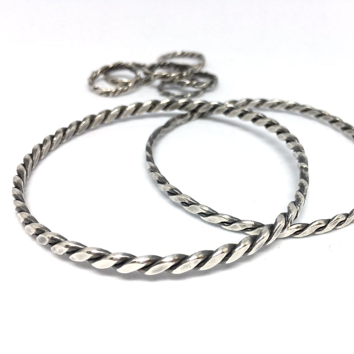 CUSTOM: Twisted Wire Bangle Class