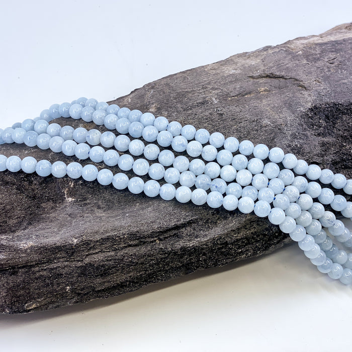 Aquamarine Strand - 6mm Round