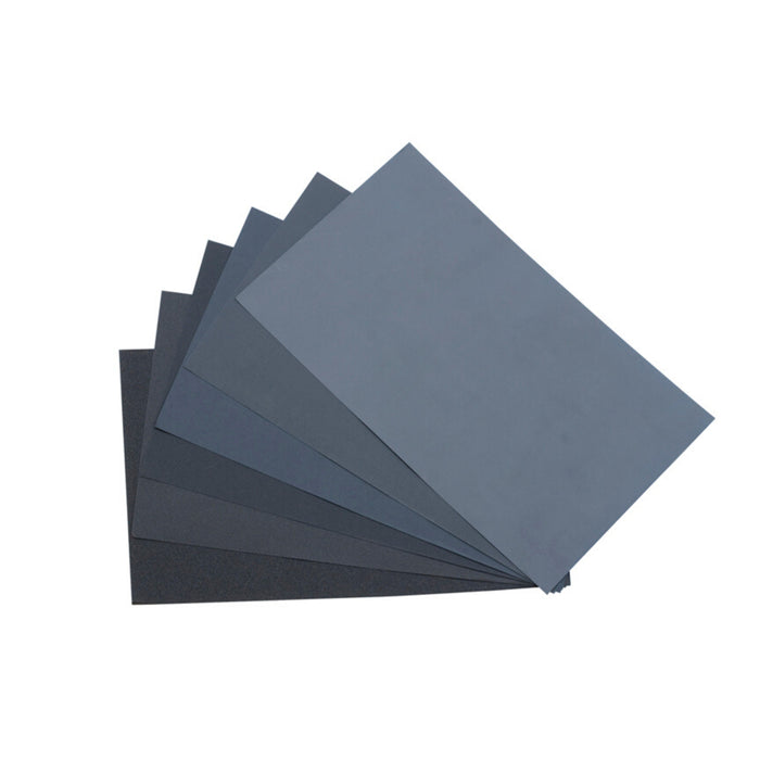Wet Dry Sandpaper Set - 10 Grits