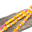 Candy Corn - Handmade Glass Beads