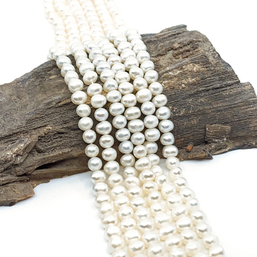 Freshwater Pearl Strand - 7mm White Potato