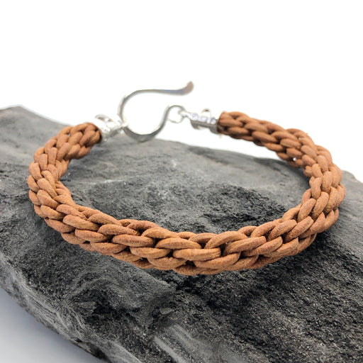 3/13/2020 Kumihimo Leather Bracelet