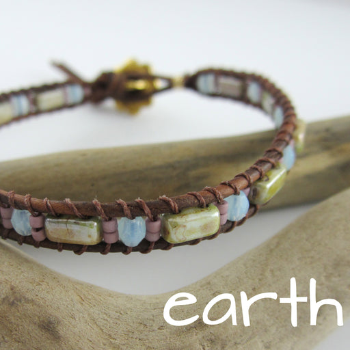 Lattice Wrap Bracelet Kit - Earth