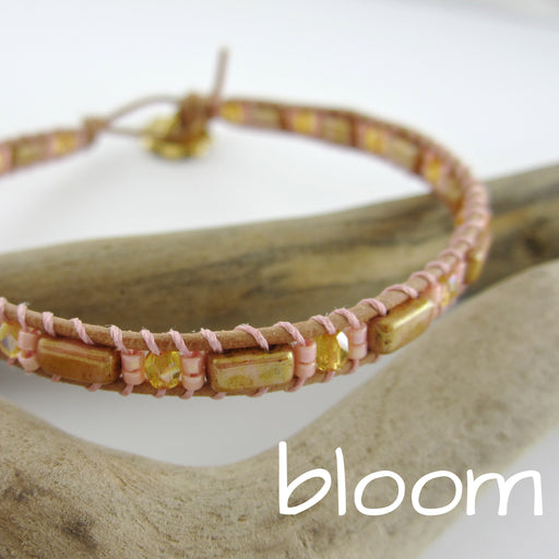 Lattice Wrap Bracelet - Bloom
