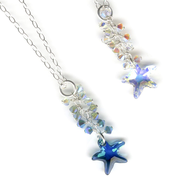 16mm Swarovski Starfish Crystal -  Special Finish Color