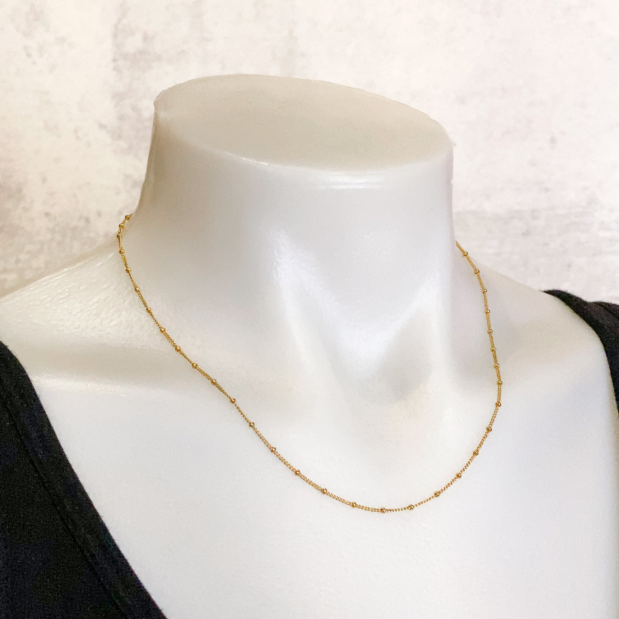 "18"" Satellite Finished Chain - Gold Filled: 1 piece"