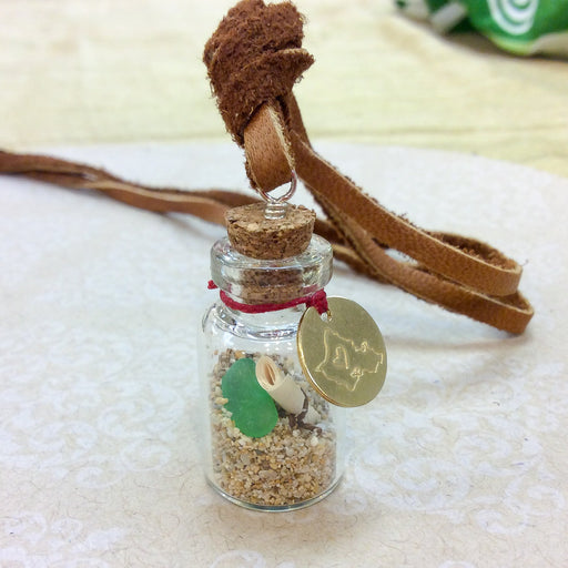 Mini Glass Wish Bottle (20 pcs.)