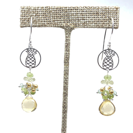 Pineapple Citrine Earring - Happy!