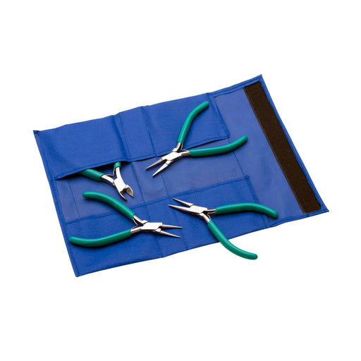 4 Piece Plier Set - Teal