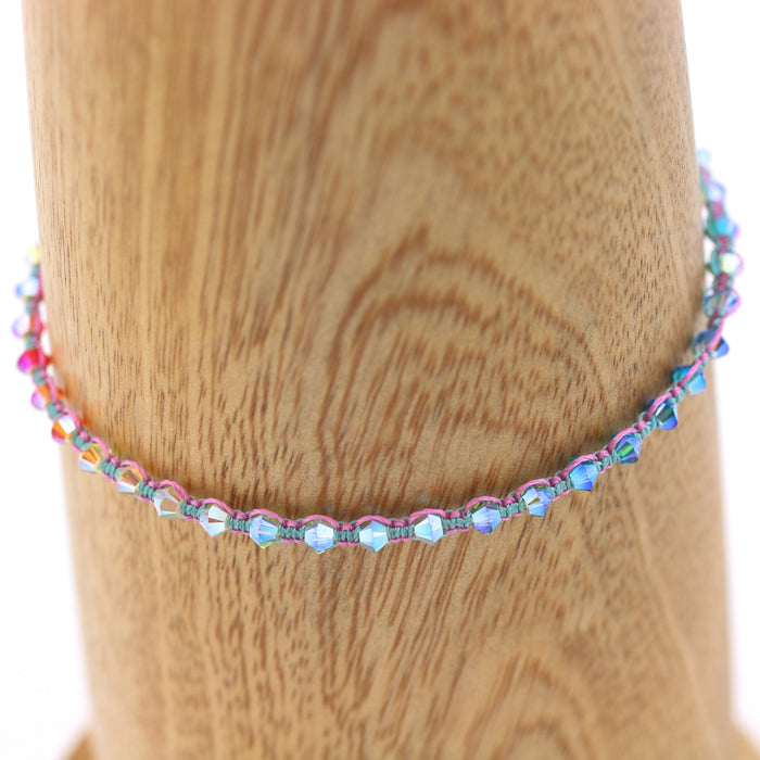Mini Crystal Rainbow Bodhi Bracelet Kit