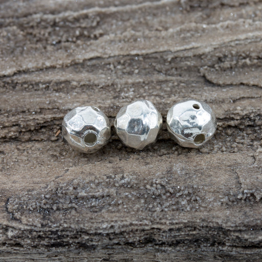 Super Sparkle Sterling Silver Guru Bead - A Bead Gallery Exclusive!