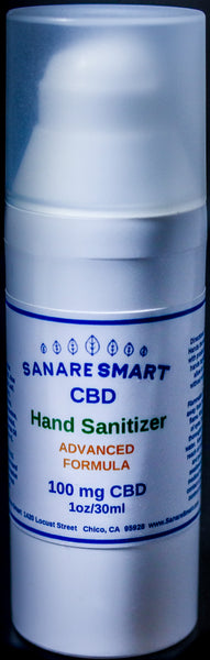CBD Hand Sanitizer Gel