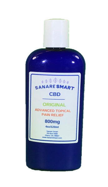 CBD Original Advanced Topical Pain Relief Lotion
