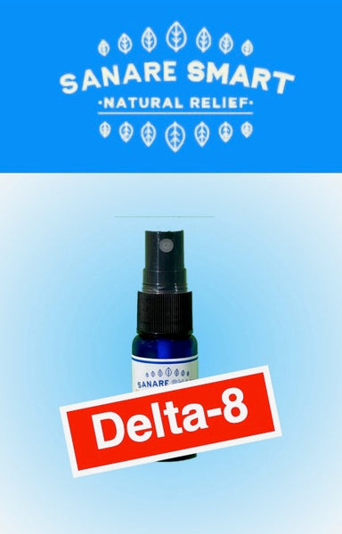 CBD Delta-8 Full Spectrum Tincture California Natural