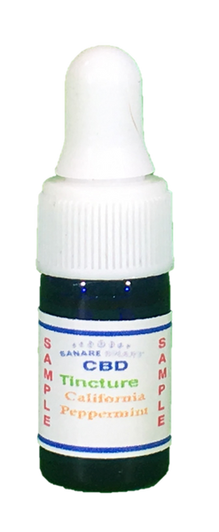CBD Tincture California Peppermint