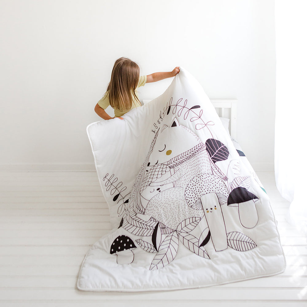 Squirrel Toddler Comforter