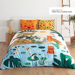 In The Jungle twin full queen king size bedding