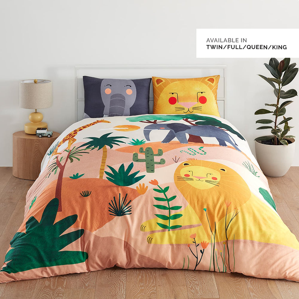 Pre-Sale: In The Savanna Duvet & Pillowcase