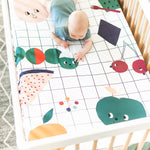 Picnic In The Park Standard Size Crib Sheet