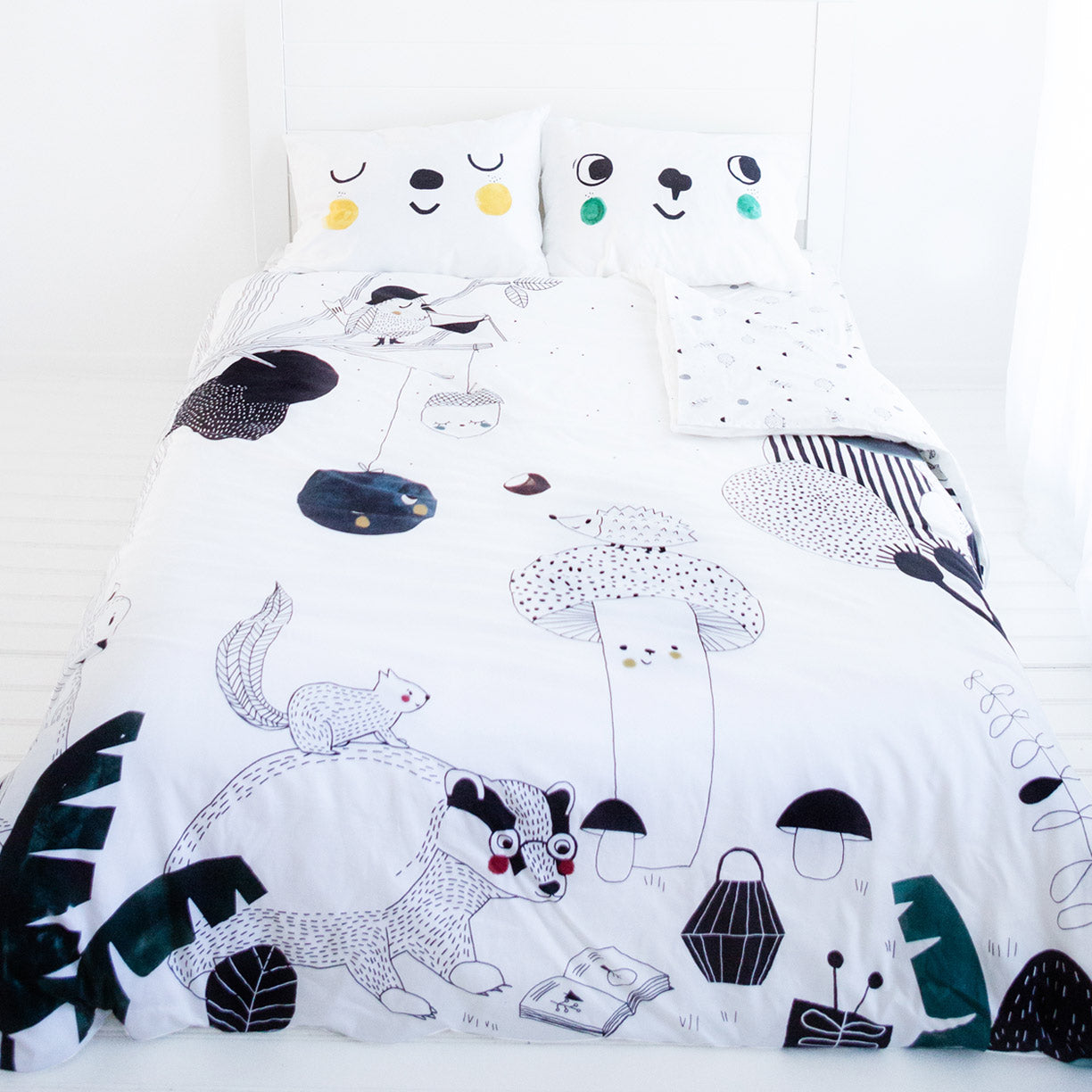 Picture of: Full Bedding Set By Rookie Humans