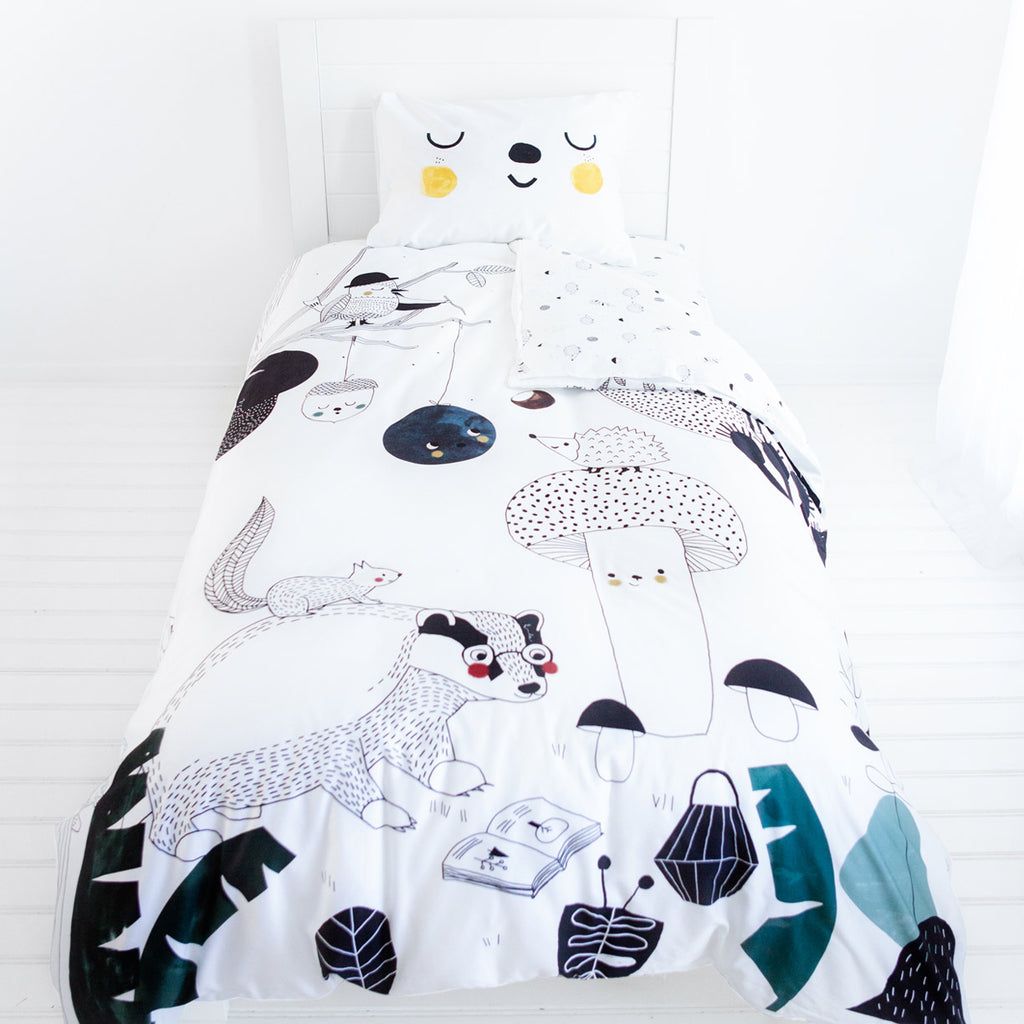 Twin Bedding Set By Rookie Humans