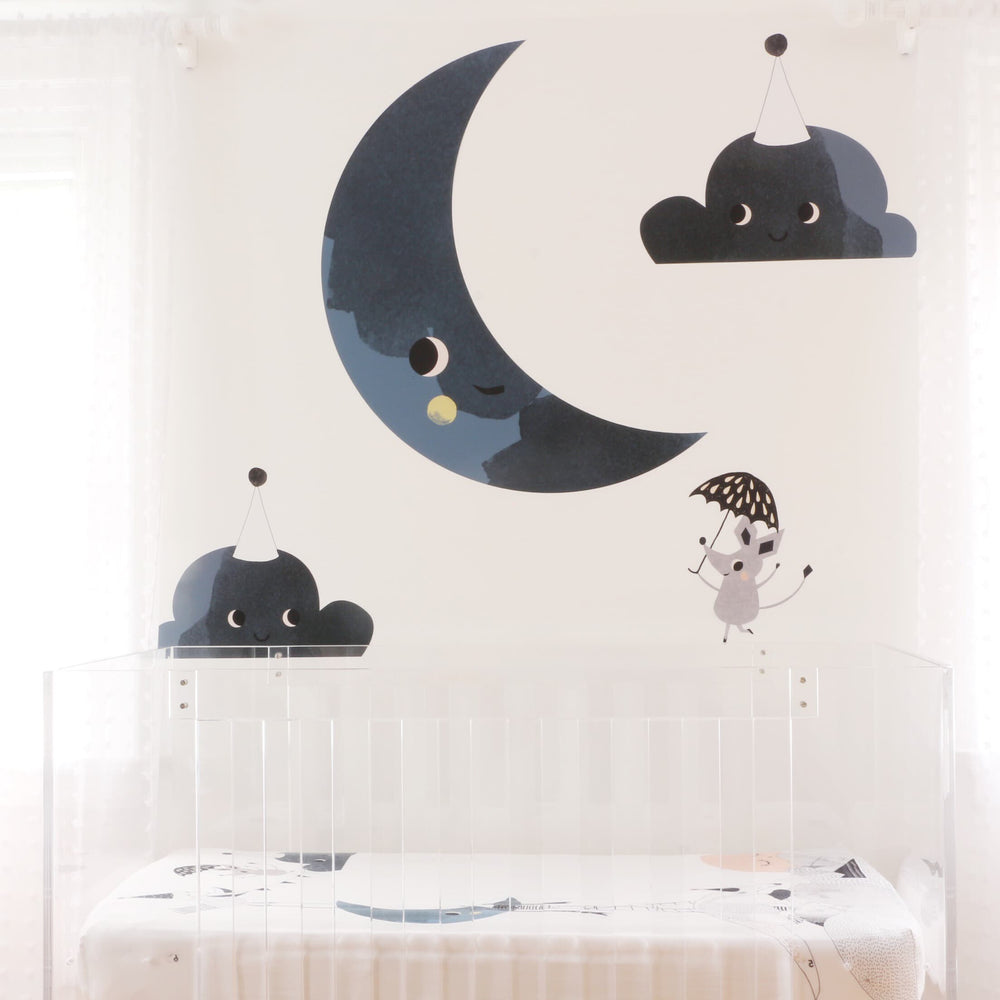 Moon's Birthday Wall Decal