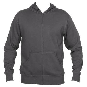 Boulder, Colorado Mountain & Trees - Men's Full-Zip Hooded Sweatshirt/Hoodie