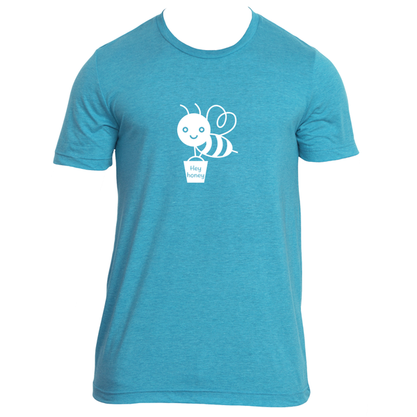Bee Hey Honey - Men's T-Shirt