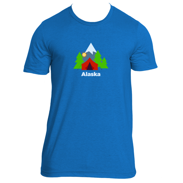 Alaska Mountain Camping - Men's T-Shirt