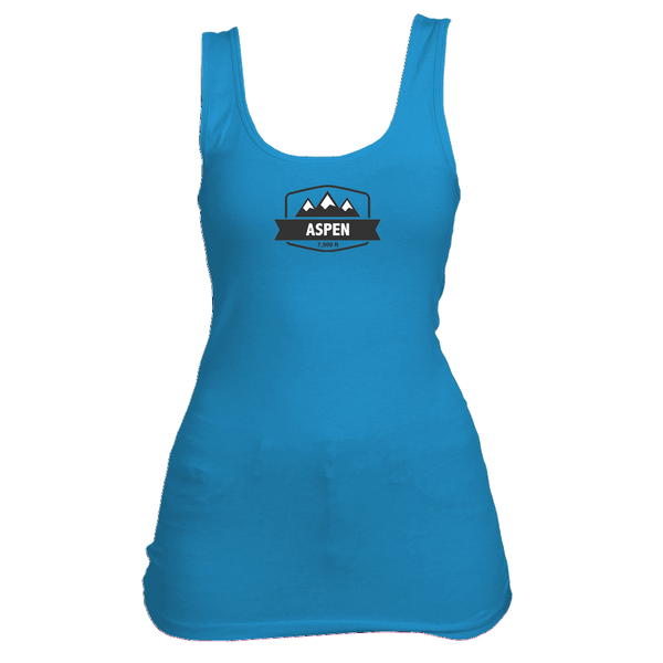 Aspen, Colorado Mountain Altitude - Women's Tank Top