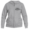 Breckenridge, Colorado Mountain Altitude - Women's Full-Zip Hooded Sweatshirt/Hoodie