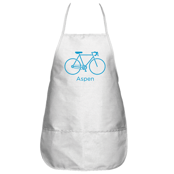 Aspen, Colorado Bicycle - Apron